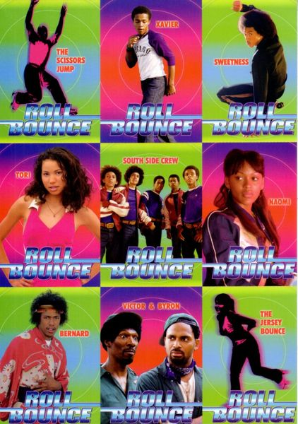 Roll Bounce 2005 Sports Illustrated for Kids promo card set (Bow Wow)