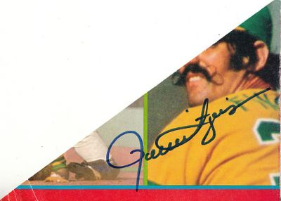 Rollie Fingers autograph or cut signature (JSA)