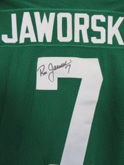 Ron Jaworski autographed Philadelphia Eagles authentic Russell Athletic throwback jersey