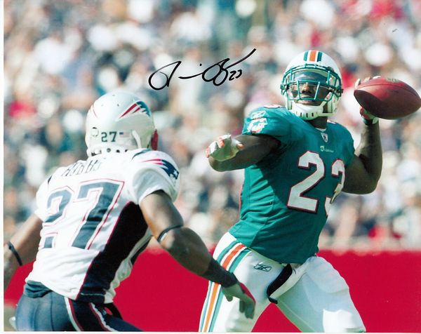 Ronnie Brown autographed Miami Dolphins 8x10 photo
