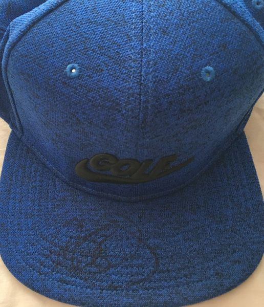 Rory McIlroy autographed Nike Golf blue cap or hat