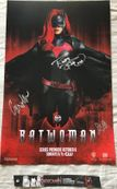 Ruby Rose autographed Batwoman 2019 San Diego Comic-Con exclusive mini poster
