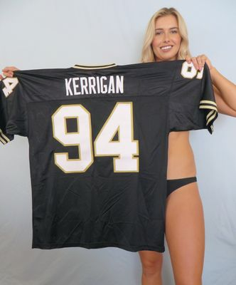 Ryan Kerrigan Purdue Boilermakers authentic Nike black double stitched throwback jersey NEW