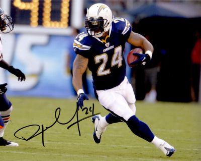 Ryan Mathews autographed San Diego Chargers 8x10 photo