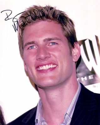 Ryan McPartlin autographed 8x10 portrait photo