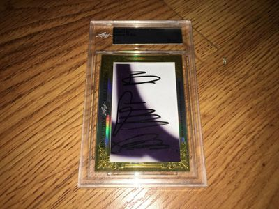 Sadaharu Oh 2015 Leaf Masterpiece Cut Signature certified autograph card 1/1 JSA