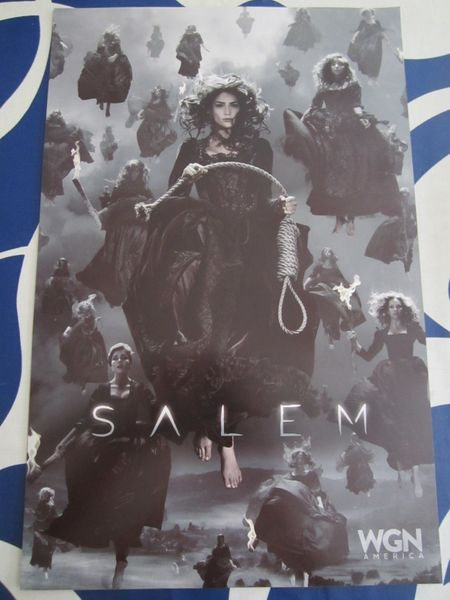 Salem 2016 Comic-Con 11x17 mini WGN promo poster