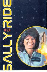 Sally Ride 2018 Forever stamp First Day Cover with dual cancellations and USPS booklet