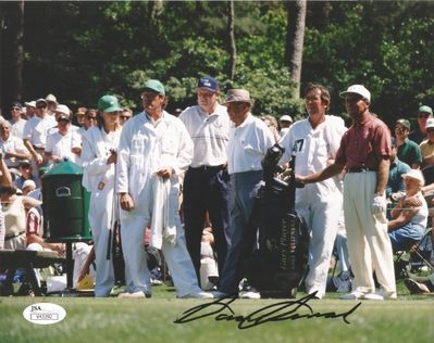 Sam Snead autographed The Masters 8x10 golf photo (JSA)