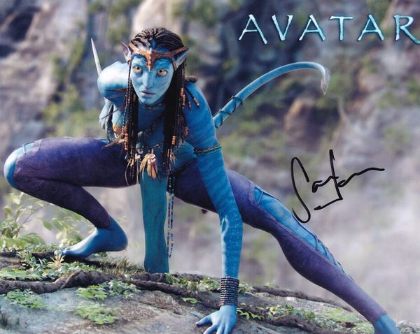 Sam Worthington autographed Avatar 8x10 movie photo