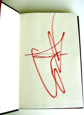Sammy Hagar autographed Red hardcover first edition book