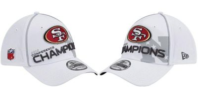 San Francisco 49ers 2012 NFC Champions New Era official Locker Room cap or hat NEW