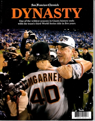 San Francisco Giants 2014 World Series Champions DYNASTY San Francisco Chronicle commemorative magazine