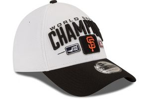 San Francisco Giants 2014 World Series Champions New Era 39THIRTY official locker room cap or hat NEW