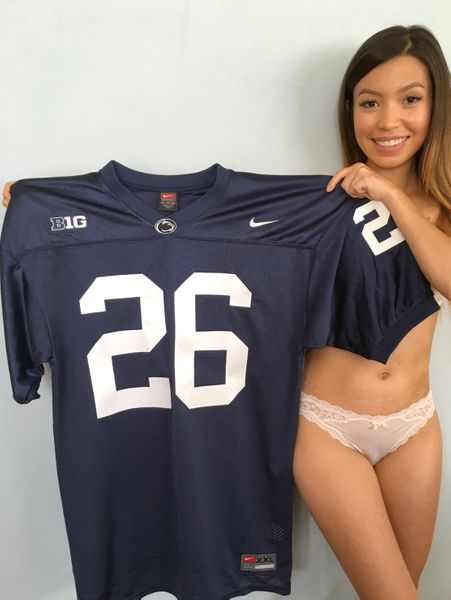 Saquon Barkley Penn State 2016 authentic Nike navy blue stitched jersey NEW