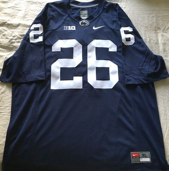 Saquon Barkley Penn State authentic Nike stitched navy blue size XL jersey NEW