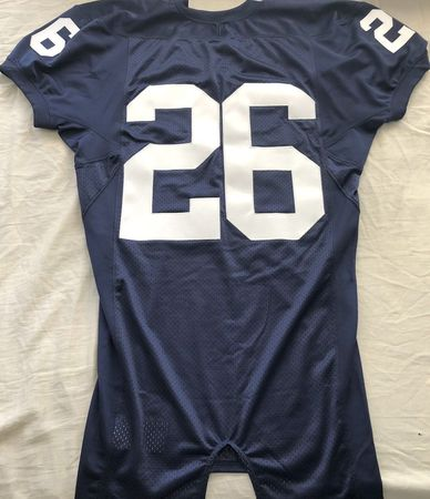 Saquon Barkley Penn State 2016 authentic Nike stitched navy blue pro cut jersey NEW