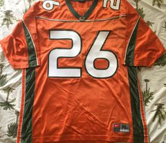 Sean Taylor Miami Hurricanes original 2001-2003 authentic Nike stitched orange size XL jersey NEW