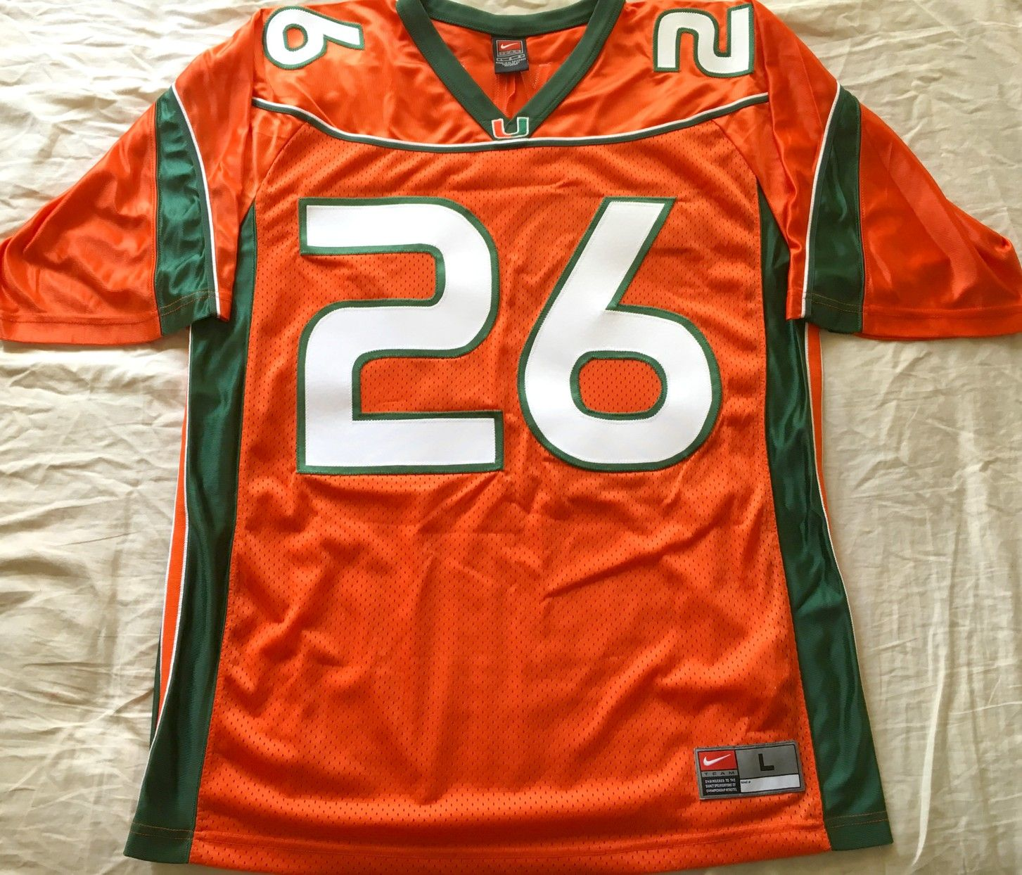 brand new fc46d bd21c sean taylor authentic miami jersey