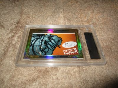 Seth Green 2015 Leaf Masterpiece Cut Signature certified autograph card 1/1 JSA