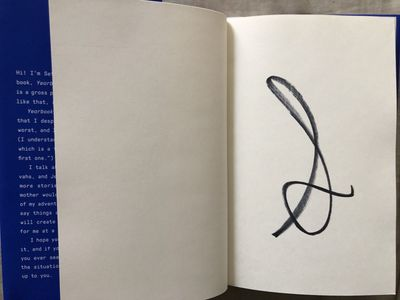 Seth Rogen autographed Yearbook hardcover first edition book