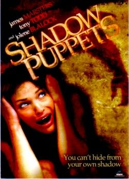 Shadow Puppets movie 2007 promo card (Jolene Blalock James Marsters)