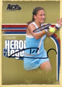 Shahar Peer autographed 2006 Ace Authentic tennis card