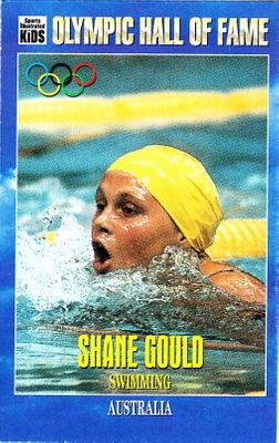 Shane Gould Olympic Hall of Fame 1996 Sports Illustrated for Kids card