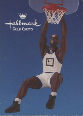 Shaquille O'Neal 1995 Classic Hallmark promo basketball card