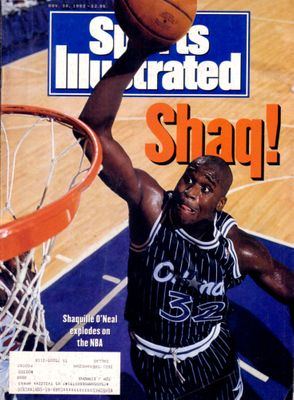 Shaquille O'Neal Orlando Magic 1992 Sports Illustrated