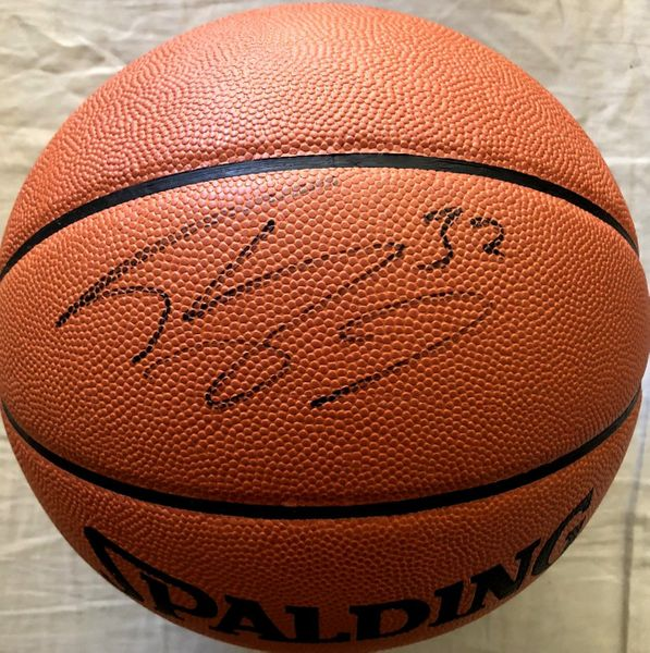 Shaquille O'Neal autographed Spalding NBA game model basketball