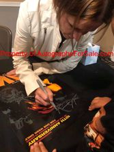 Shawnee Smith autographed SAW 10th Anniversary Halloween 2014 13x20 movie poster (red)
