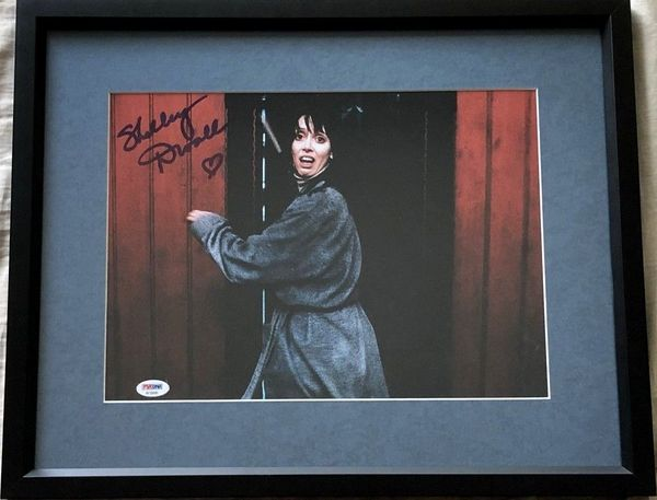 Shelley Duvall autographed The Shining 10x13 movie photo matted and framed (PSA/DNA)