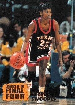 Sheryl Swoopes Texas Tech 1996 Classic Legends of the Final Four card