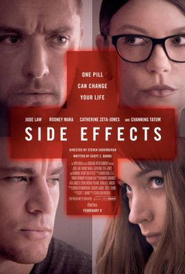 Side Effects mini movie poster (Jude Law Rooney Mara Channing Tatum Catherine Zeta-Jones)