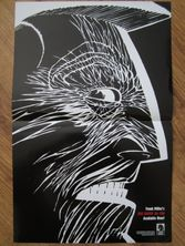 Sin City A Dame to Kill For movie 2014 Dark Horse Comics foldout poster