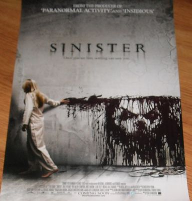 Sinister 2012 movie mini 11x17 inch promo poster (Ethan Hawke)