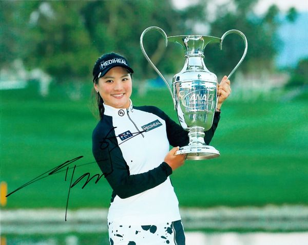 So Yeon Ryu autographed 2017 ANA Inspiration 8x10 photo