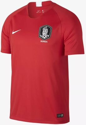 South Korea 2018 World Cup Team authentic Nike game model red home jersey or kit BRAND NEW WITH TAGS