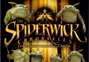 Spiderwick Chronicles 2007 Comic-Con Inkworks promo card SW-SD2007