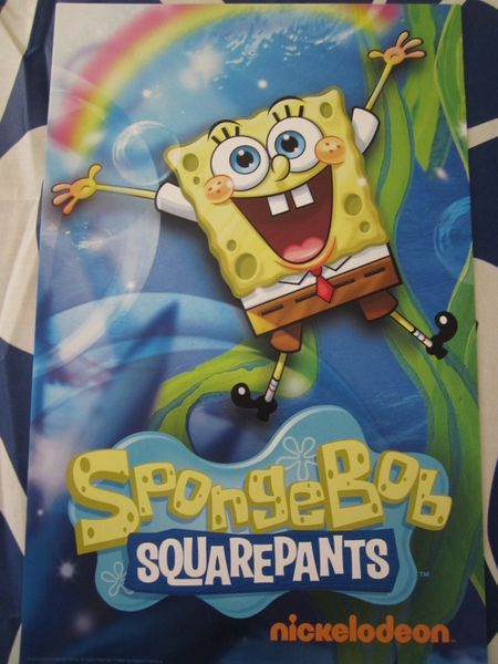 SpongeBob SquarePants 2014 Comic-Con mini 11x17 Nickelodeon poster