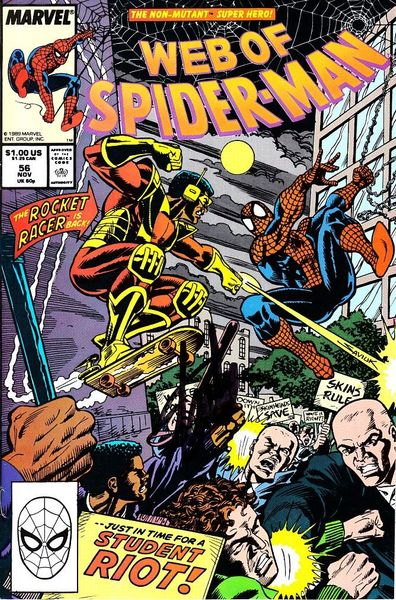 Stan Lee autographed Web of Spider-Man comic book issue #56
