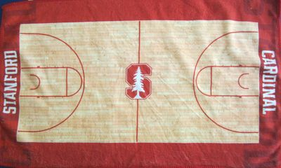 Stanford Cardinal basketball felt rally towel