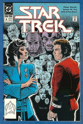 Star Trek DC 1990 comic book issue #6