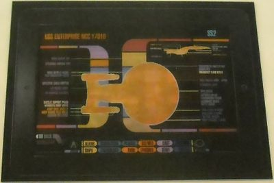 Star Trek The Next Generation 2012 Comic-Con lenticular 4x5 inch promo card