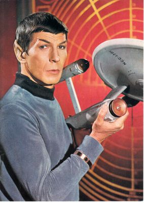 Star Trek Original Series Spock 5x7 photo card