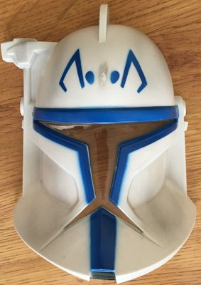 Star Wars The Clone Wars Captain Rex 2016 Comic-Con promo helmet mask