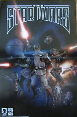 Star Wars comic book double sided Dark Horse Comics 2013 poster