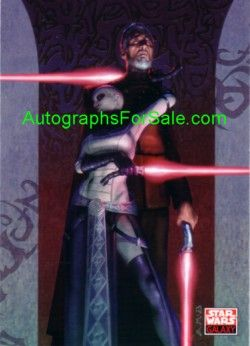 Star Wars Galaxy IV 2008 Topps promo card P1
