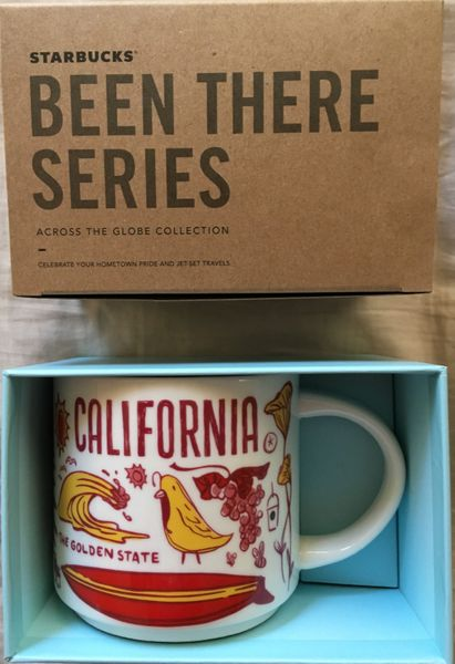 Starbucks 2018 Been There Series California 14 ounce collector coffee mug NEW